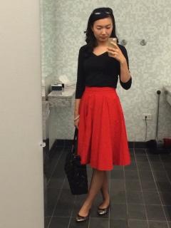 Skirt from Zara